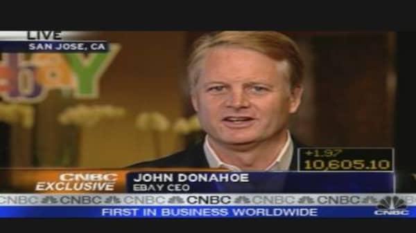EBay CEO on Earnings, Outlook