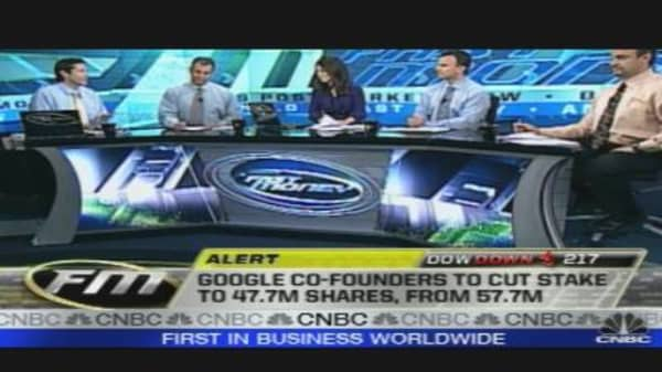 Google Co-Founders Sell Shares
