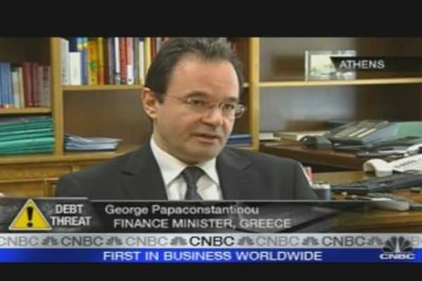 Idea of Euro Exit 'Absurd': Greek FinMin