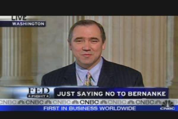 Sen. Merkley: No To Bernanke