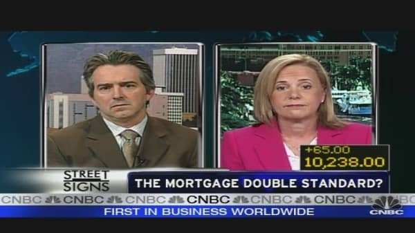 The Mortgage Double Standard?