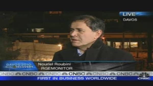 Roubini: Asset Bubble Is Beginning Now