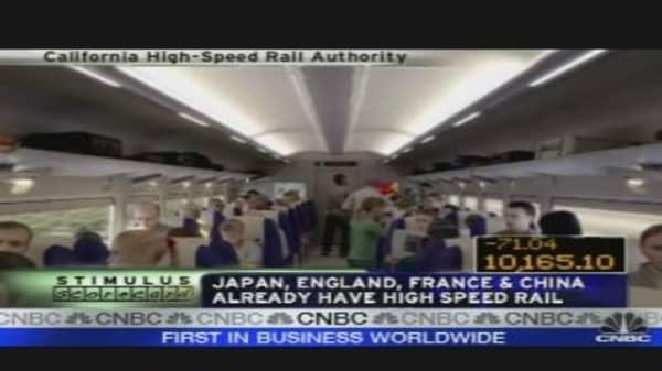 $8 Billion for High Speed Rail