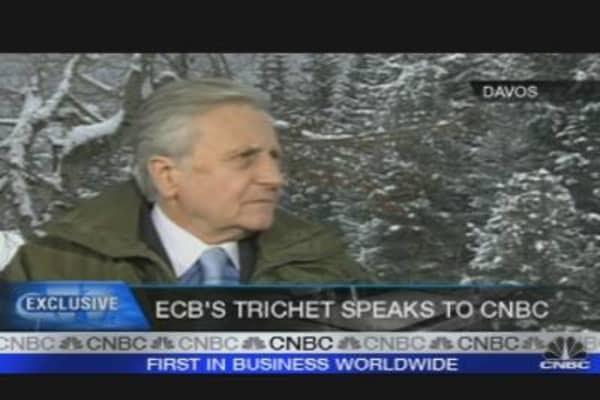 Euro Debt Levels Not Sustainable: Trichet