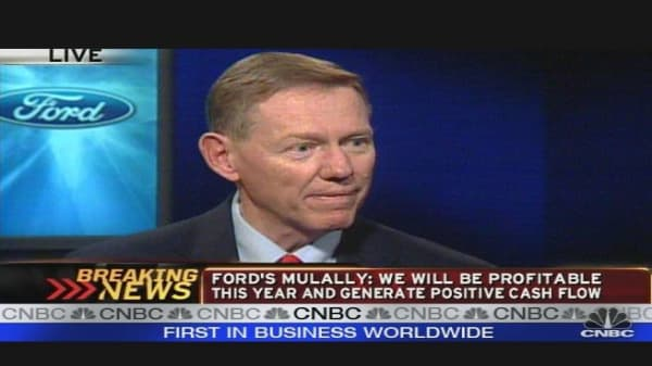 Mulally: Fueling Ford
