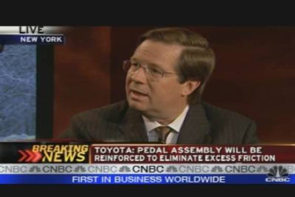 Toyota USA President on Gas Pedal Fix