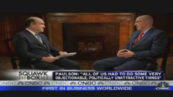 Hank Paulson Looks Back at Financial Crisis