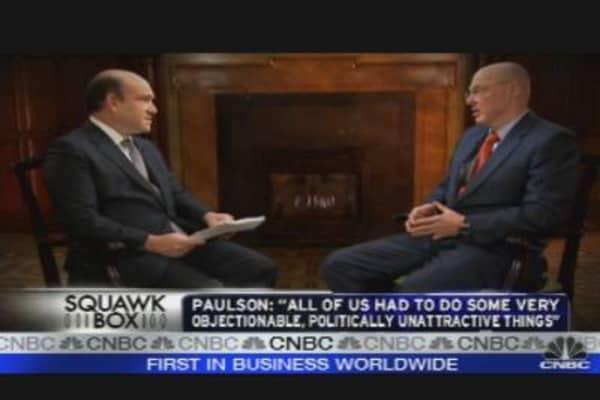 Hank Paulson Looks Back at Financial Crisis