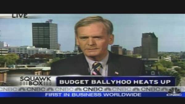Sen. Gregg on Federal Budget