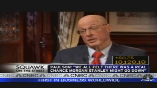 Hank Paulson Gets Very Candid