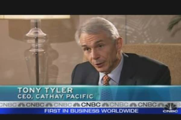 Cathay Pacific CEO: Plans to Up Capacity in 2010