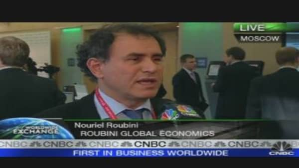 Russia Needs a Crisis to Change: Roubini