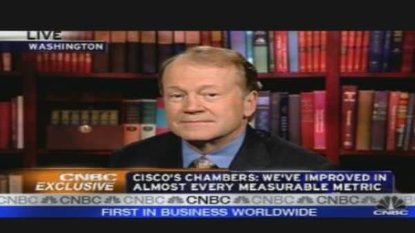 Cisco CEO on Earnings, Outlook