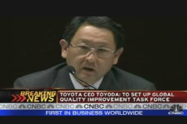 Toyota's News Conference