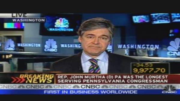 Congressman Murtha Dead