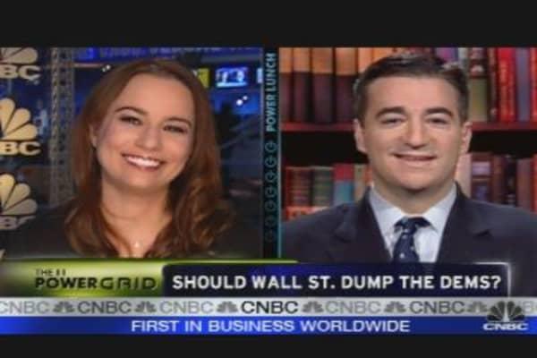 Should Wall St. Dump Dems?