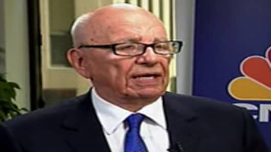 David Faber interviews Rupert Murdoch