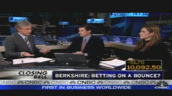 Berkshire: Betting on a Bounce?
