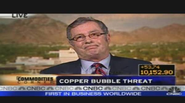 Copper Bubble Looming?