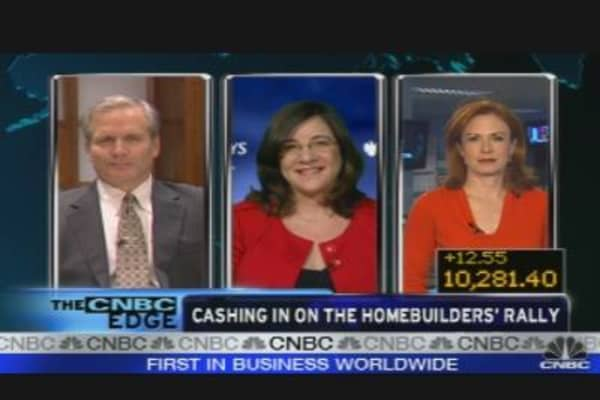 Cashing in on Homebuilders' Rally