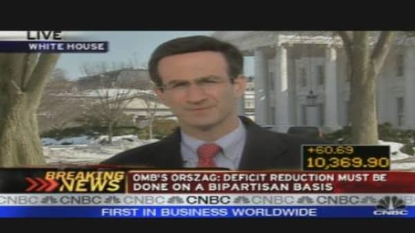 Orszag On Deficit Crisis