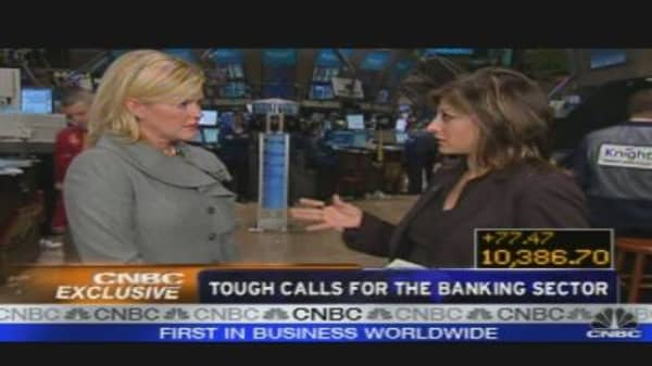 Whitney: Tough Calls for the Banking Sector