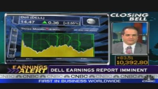 Dell Reports Earnings