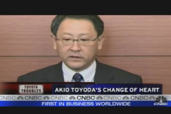 Akio Toyoda's Change of Heart