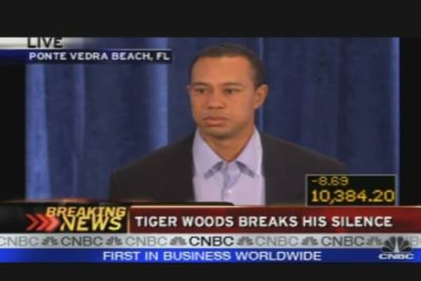 Tiger Breaks His Silence