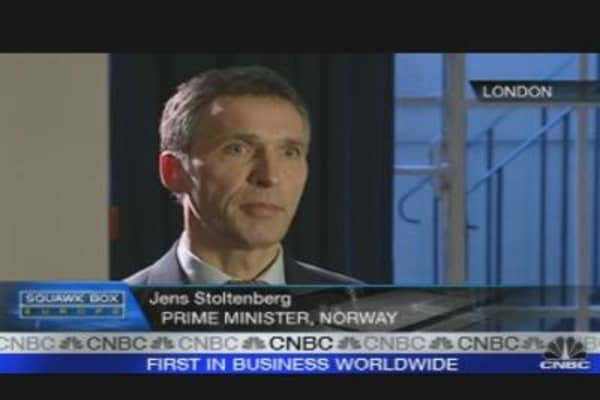 Greece Will Tackle Deficit: Norwegian PM