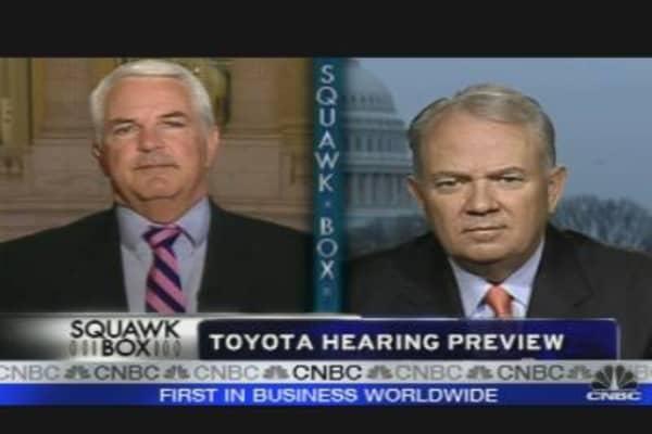 Toyota Executives Head to DC