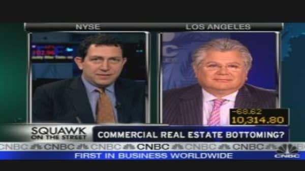 Commercial Real Estate Bottoming?