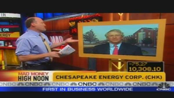 CHK CEO on Drilling for Oil
