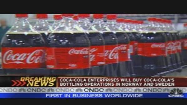 Coke to Buy N. American Bottling Operations