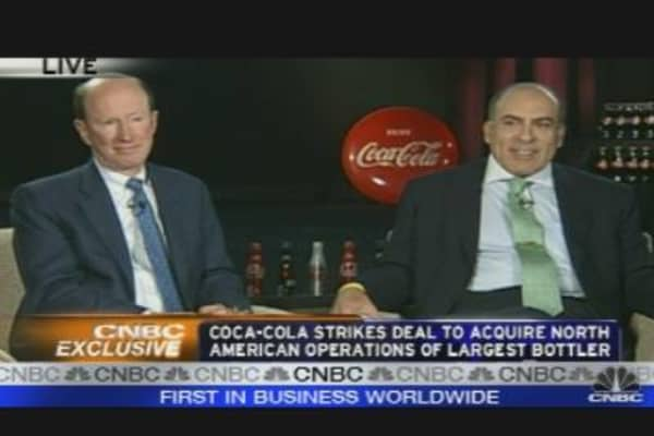 Coca-Cola CEO on Bottler Deal