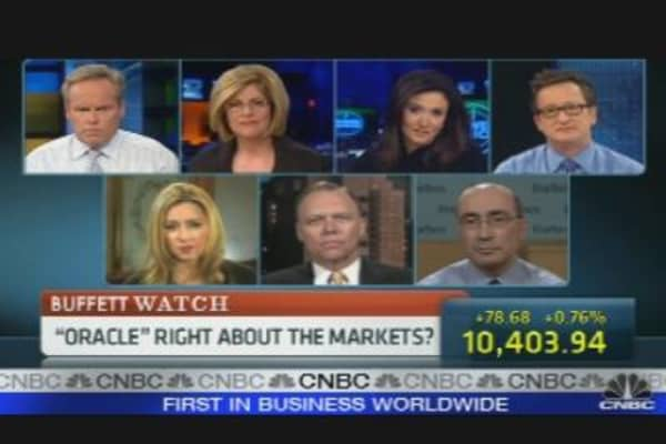 The 'Oracle' Speaks on Goldman