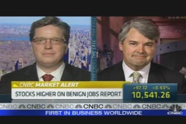 Stocks Higher On Jobs Report