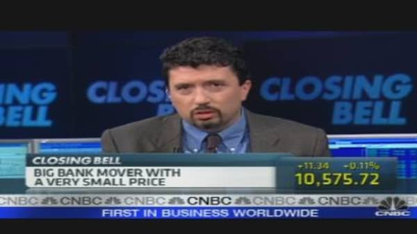 WaMu: Big Bank Mover, Very Small Price