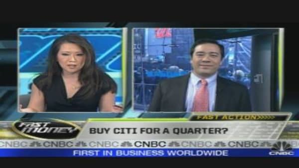 Fast Action: Buy Citi for 5 Cents?