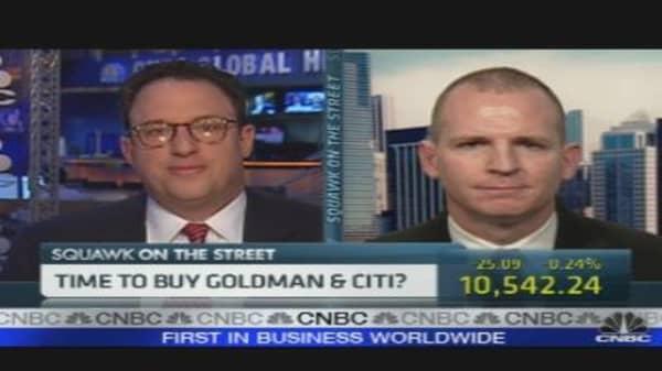 Time to Buy Goldman & Citi?
