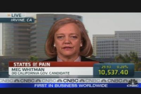 Whitman on California's Debt Crisis