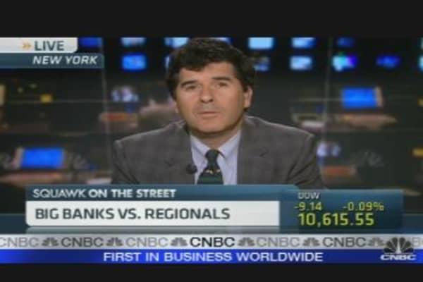 Big Banks vs. Regional Banks