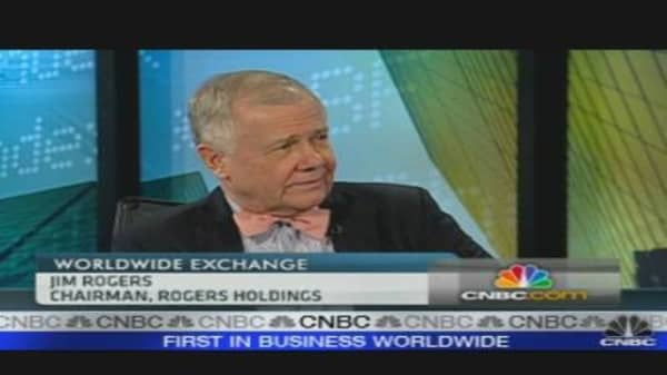 Another Recession Coming: Jim Rogers