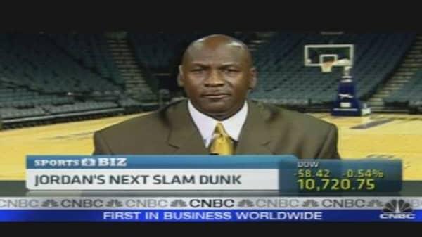 Jordan's Next Slam Dunk