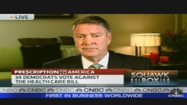 Frist Reacts to Health Care Overhaul