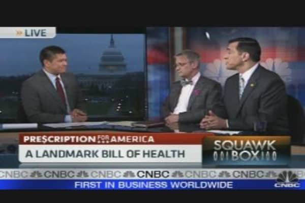 Health Care Overhaul Passes Along Party Lines