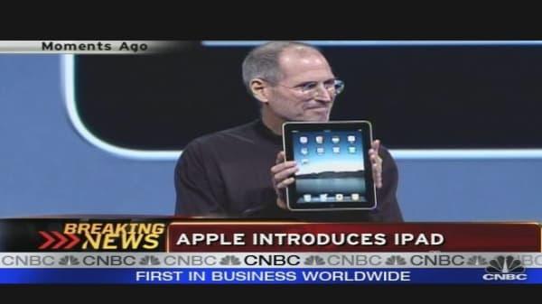 Apple Debuts iPad