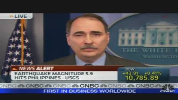 Axelrod Talks Health Care