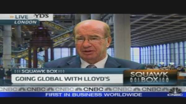 Lloyd's of London Chairman on Earnings