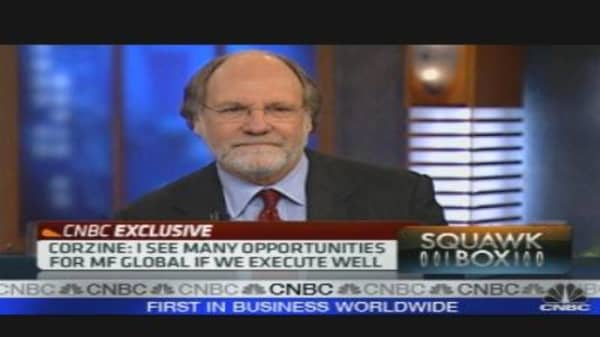 Corzine Back on Wall Street